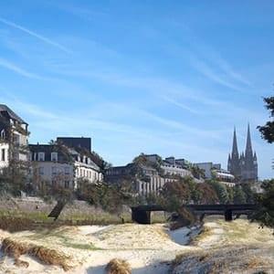 Tourisme à Quimper et sa cathédrale Saint-Corentin
