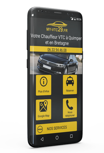Application Android VTC Quimper