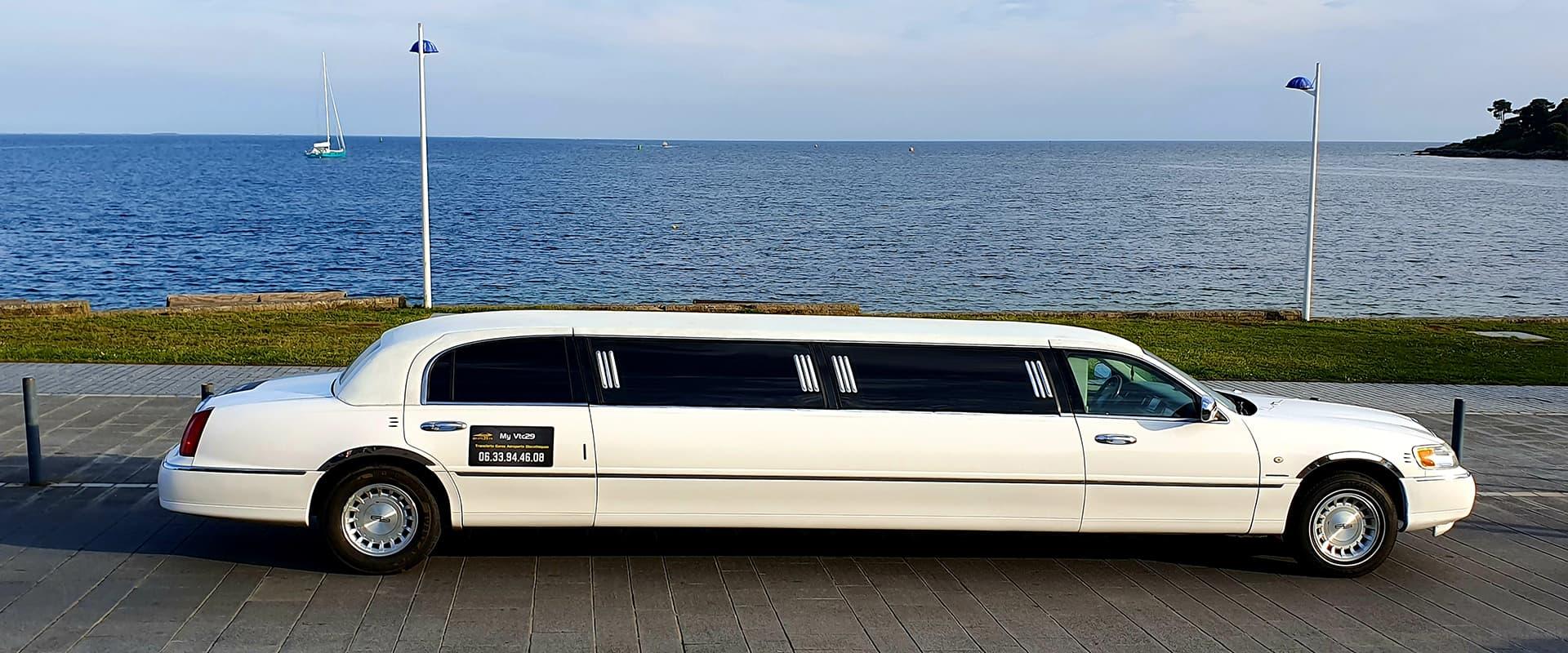Service de location de Limousine avec Chauffeur sur Quimper